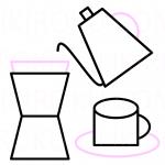 コーヒーの出がらしは消臭剤に使えるよ。